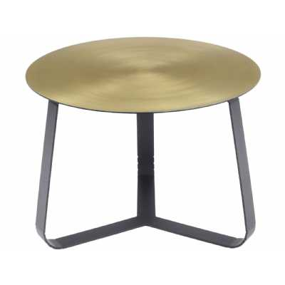 Bloomsbury Shiny Brass Coffee Table Small