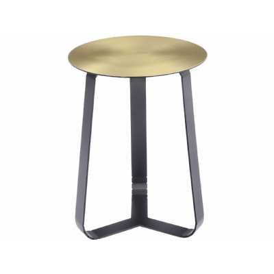 70.5 cm Smoked Black Mirrored Pedestal Side Lamp Table Stand Telephone Pillar