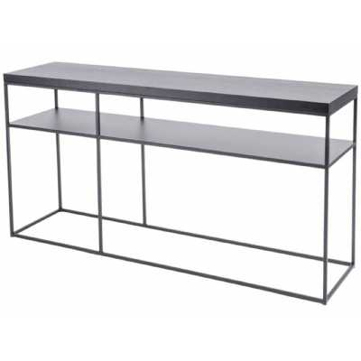 Chancery Marquina Marble Console Table