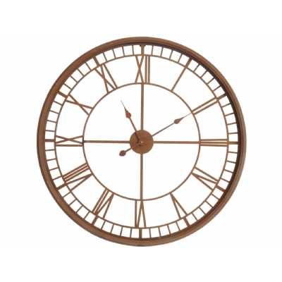 Antique Rust Skeleton Wall Clock