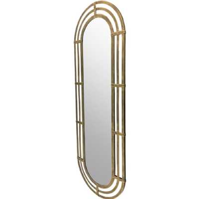 Lalique Gold Metal Oval 153cm height