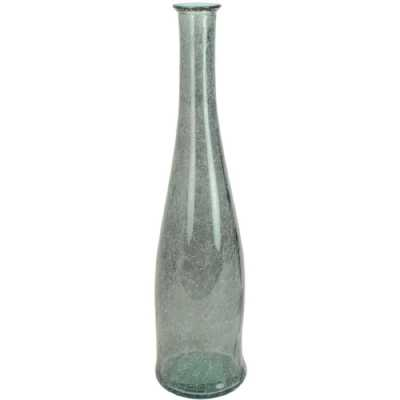 Tall Green Recycled Glass Vase 80cm