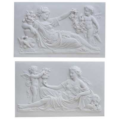 Marbaline Classical Plaques Ladies Pair