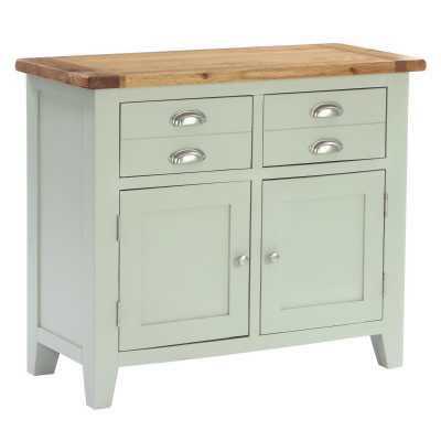 Vancouver Expressions French Grey 2 Drawer 2 Door Buffet