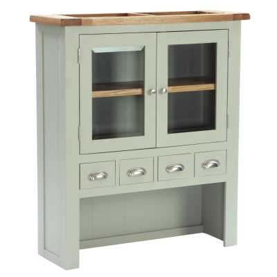 Vancouver Expressions French Grey 4 Drawer 2 Door Hutch