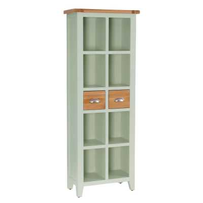 Vancouver Expressions French Grey 2 Drawer Bookcase