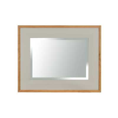 Vancouver Expressions French Grey Rectangular Mirror