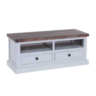 The Hamptons TV Unit with 2 Drawers