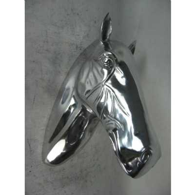 Aluminium Horse Head Wall