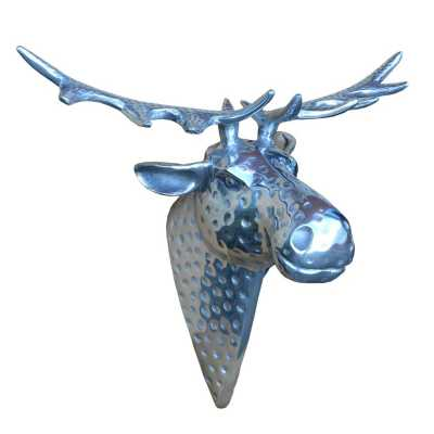 Aluminium Moose Head