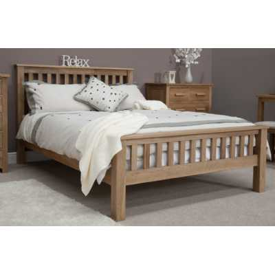 Opus Kingsize Bed High foot end