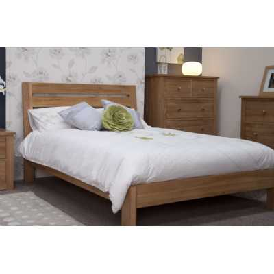 Trend Slatted Double Bed