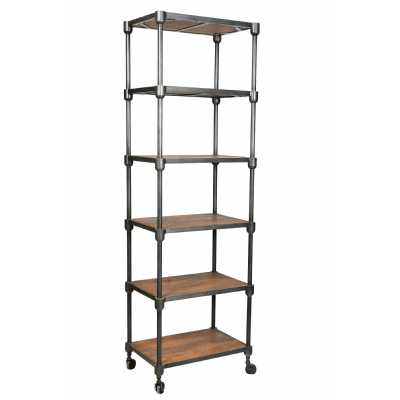 Handicrafts Iron and Reclaimed Timber Shelving Unit