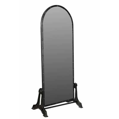 Handicrafts Antique Full Legnth Floor Standing Mirror with Iron Frame