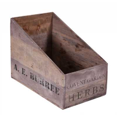 Vintage Display Crates Set of 8 Box Trays for BX098