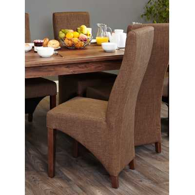 Full Back Upholstered Dining Chair PACK OF TWO