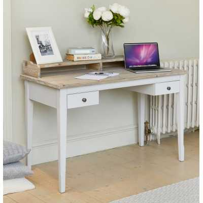Grey Painted Desk Dressing Table