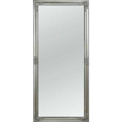Charlotte Leaner Mirror Antique Silver 72x160cm (Set of 2)