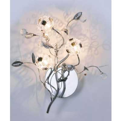 Spring Flowers Wall Lamp
