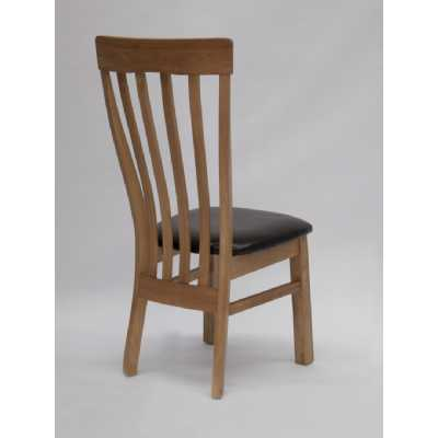 Opus Lucia Dining Chair with Brown Seatpad