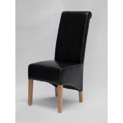 Richmond Black Dining Chair BONDED