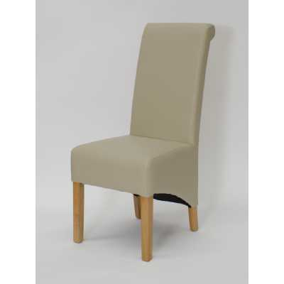 Richmond Bone Dining Chair MATT BONDED