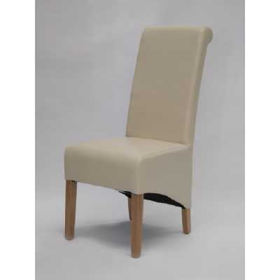 Richmond Ivory Dining Chair BONDED