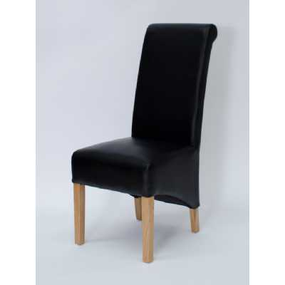 Richmond Noir Dining Chair MATT BONDED