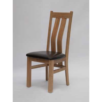 Vermont Maria Dining Chair with Brown seatpad