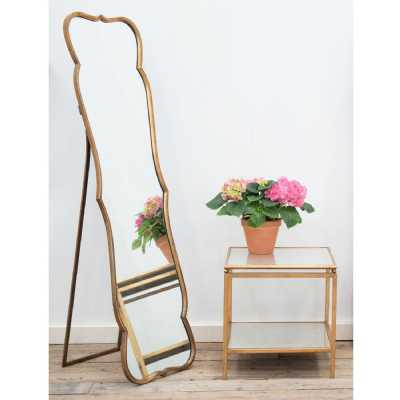 Floor Standing Metal Mirror