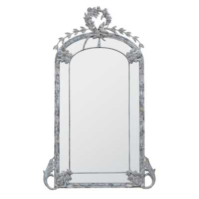 Metal Frame Floor Standing Mirror