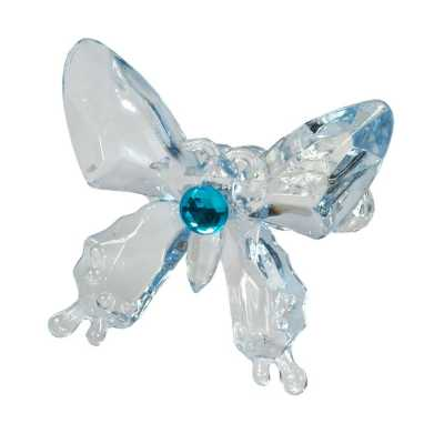 Water Blue Butterfly Napkin Holder
