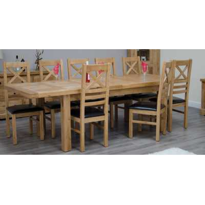 Deluxe Twin Leaf Extending Table 1800+(2x400) X 1000
