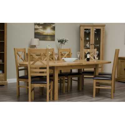 Deluxe Oval Extending Dining Table