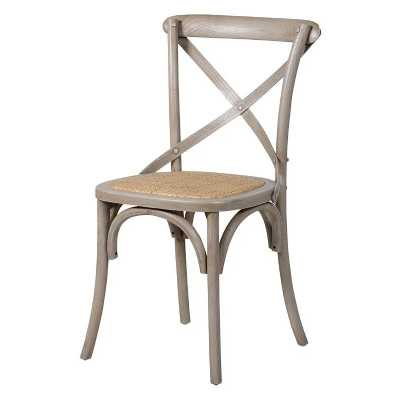 ... London Belfort X Back Dining Chair Antique Style Shabby Chic