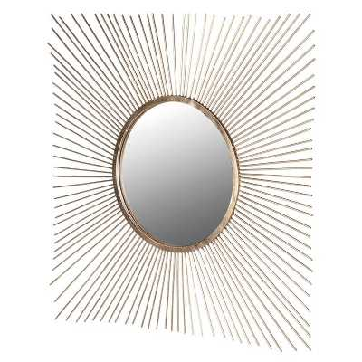 Square Spiky Mirror