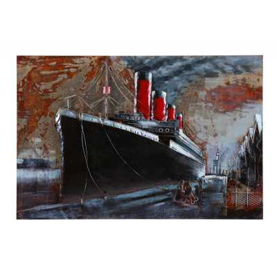 Paintings 3D Metal Titanic Painting