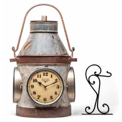 Clocks Recycle Old Milk Can Clock