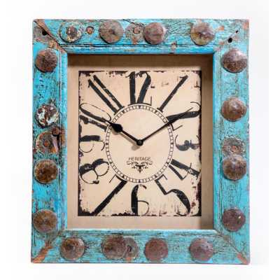 Clocks Upcycled Window Clock