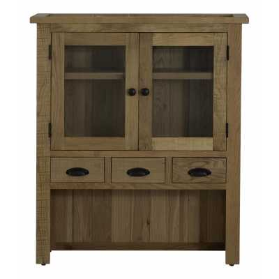 Vancouver Sawn Hutch with 4 Drawers And 2 Doors