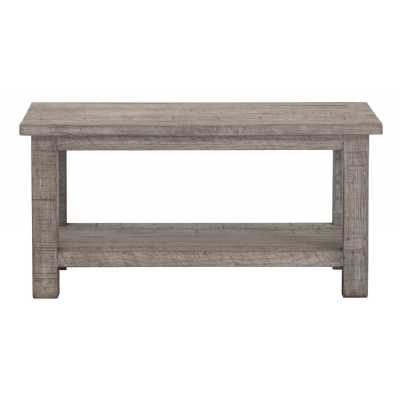 Vancouver Sawn Weathered Grey Rectangular Coffee Table