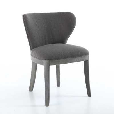 Grandure Antique Grey Accent Chair