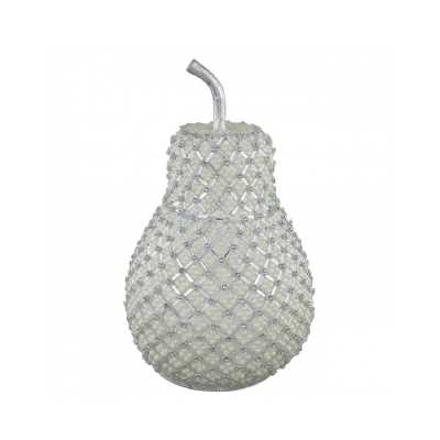 Pear Decoration With Ivory Pearl Detail
