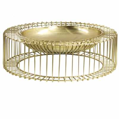 56cm Metal Decorative Bowl