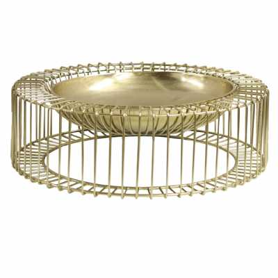 46cm Metal Decorative Bowl