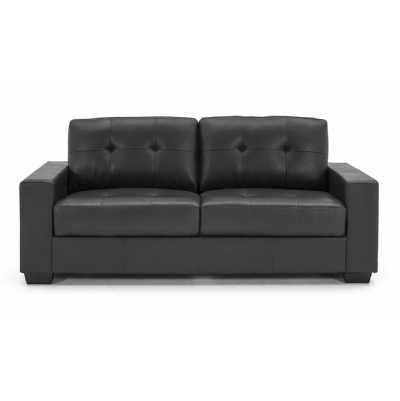 Gemona 3 Seater Black