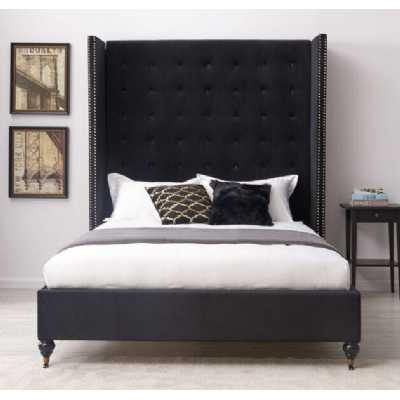 Melrose Bed Black