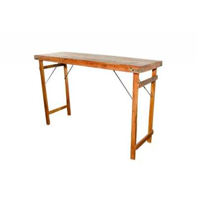 Upcycled Originals Folding Bar Table 170cm