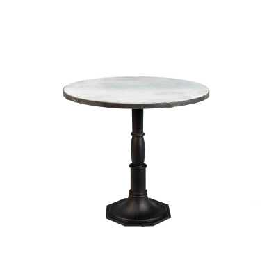 Industrial Originals Round Marble Table