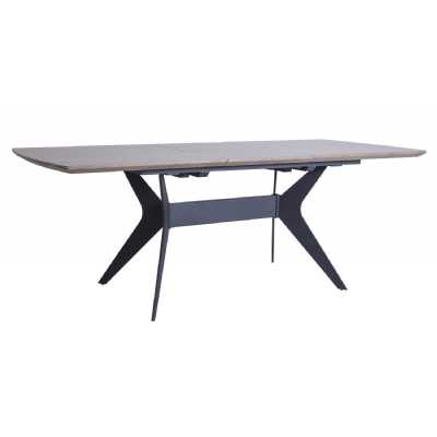 Dining Extending Dining Table 1.6 2.1m with Chalked Wooden Top